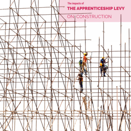 Construction Skills Shortages and the Apprenticeship Levy