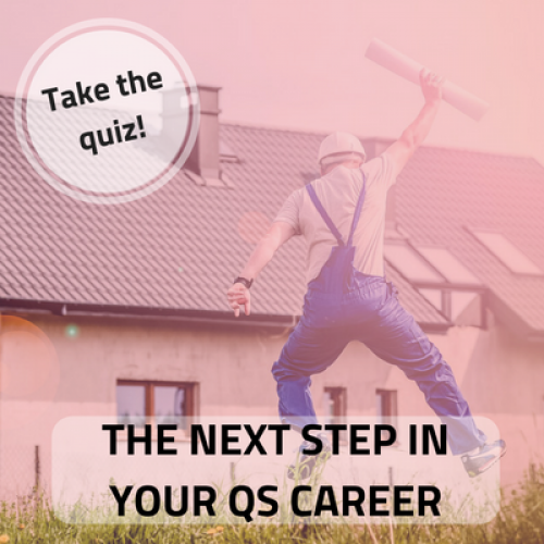 The next step in your QS career